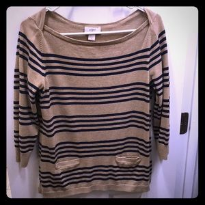 Loft stripped sweater